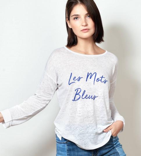 T-Shirt LES MOTS BLEUS