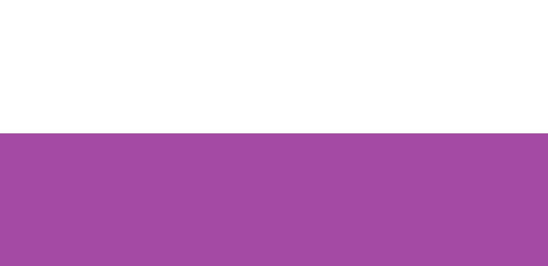 Blanc / Purple